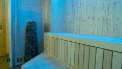 Aufgusssteine in der Sauna
